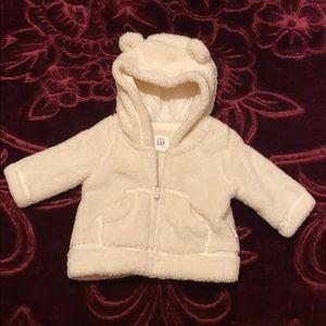 Baby Gap White Sweater - Girl